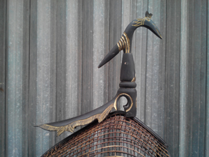 Lồng cu gáy quả đào sừng trâu cỡ lớn